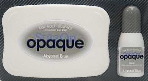 SZ-000-158 Stazon inkpad set opaque Abyssa blue