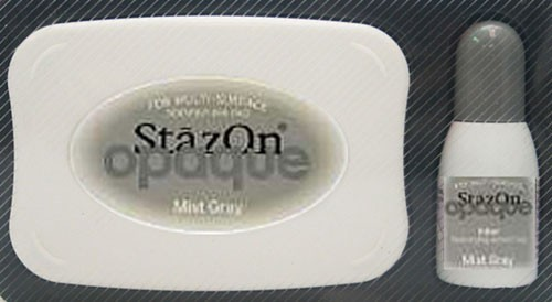 SZ-000-181 Stazon inkpad set opaque Mist gray