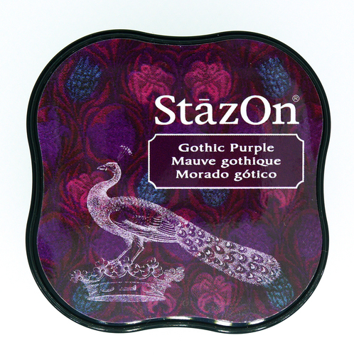 SZ-MID-013 Stazon Ink pad MIDI Gothic purple