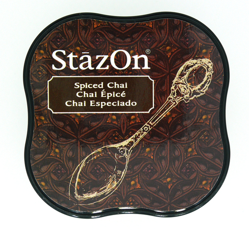 SZ-MID-45 Stazon Ink pad MIDI Spiced Chai