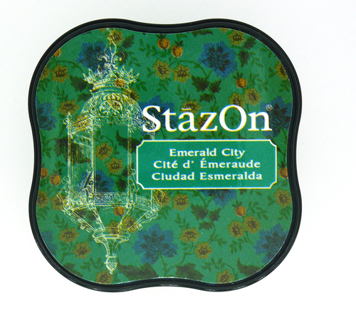 SZ-MID-54 Stazon Ink pad MIDI Emerald City