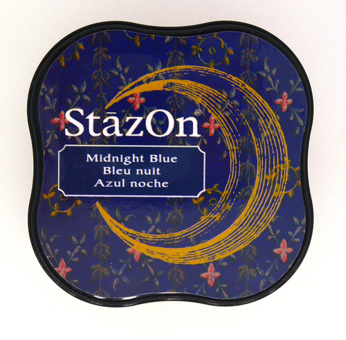SZ-MID-62 Stazon Ink pad MIDI Midnight blue