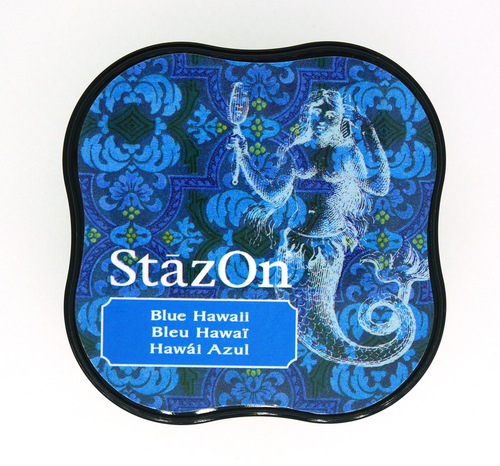 SZ-MID-65 Stazon Ink pad MIDI Blue Hawaii