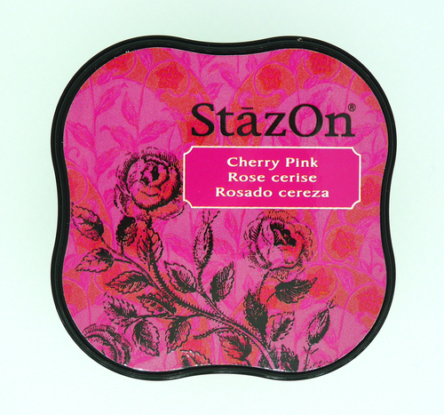 SZ-MID-81 Stazon Ink pad MIDI Cherry pink