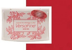 VF-000-010 Inkpads Versafine Satin red