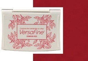 VF-000-011 Inkpads Versafine Crimson red