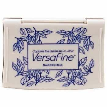 VF-000-018 Inkpads Versafine Majestic blue