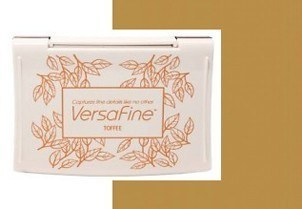 VF-000-052 Inkpads Versafine Toffee