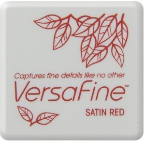 VF-SML-010 Versafine ink pads small Satin Red