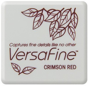 VF-SML-011 Versafine ink pads small Crimson Red