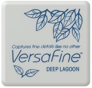 VF-SML-019 Versafine ink pads small Deep lagoon