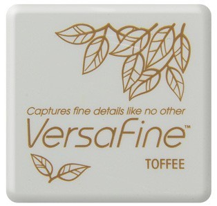 VF-SML-052 Versafine ink pads small Toffee