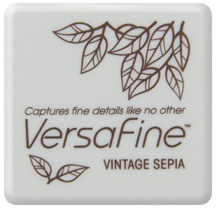VF-SML-054 Versafine ink pads small Vintage sepia