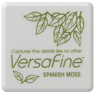 VF-SML-062 Versafine ink pads small Spanish Moss