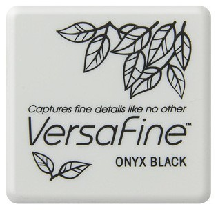 VF-SML-082 Versafine ink pads small Onyx Black