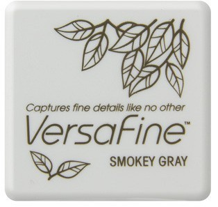 VF-SML-083 Versafine ink pads small Smoky Gray