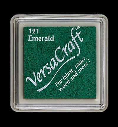 VK-SML-121 Versacraft inkpad small Emerald