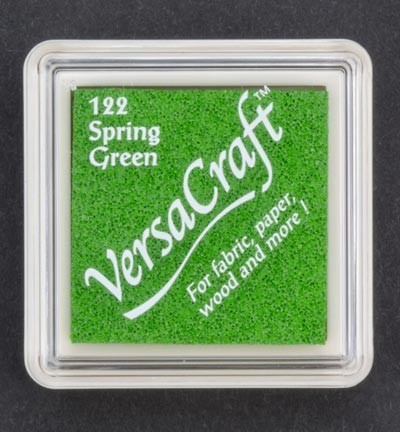 VK-SML-122 Versacraft inkpad small Spring green