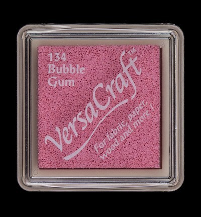 VK-SML-134 Versacraft inkpad small Bubble Gum