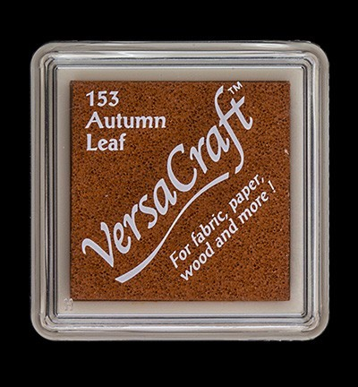 VK-SML-153 Versacraft inkpad small Autumn Leaf