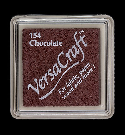 VK-SML-154 Versacraft inkpad small Chocolate