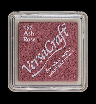 VK-SML-157 Versacraft inkpad small Ash Rose