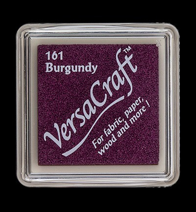 VK-SML-161 Versacraft inkpad small Burgundy