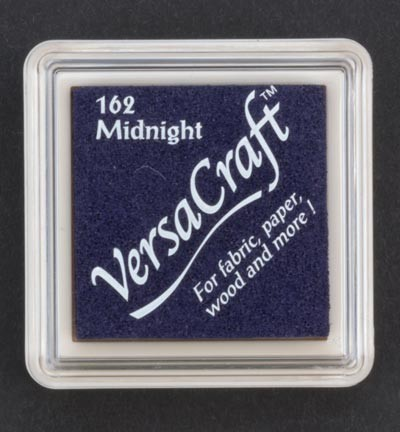 VK-SML-162 Versacraft inkpad small Midnight