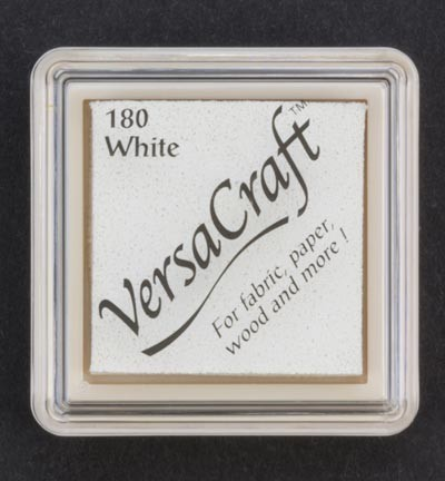 VK-SML-180 Versacraft inkpad small White
