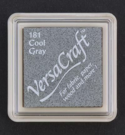 VK-SML-181 Versacraft inkpad small Cool Gray