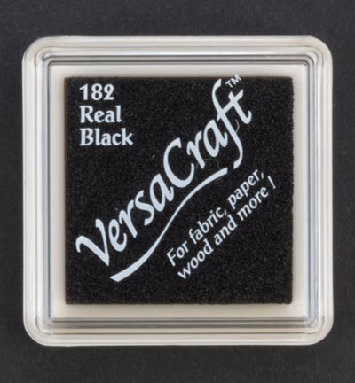 VK-SML-182 Versacraft inkpad small Real Black