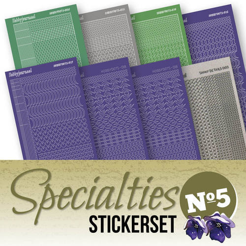 SPECSTS005 Stickerset Specialties 5