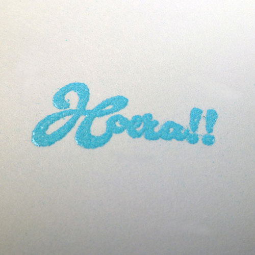 EMP007 Embossing Powder Baby blue