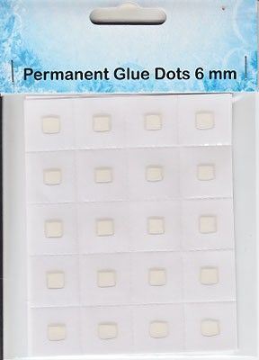 11.03.11.017 permanent glue dots 6mm
