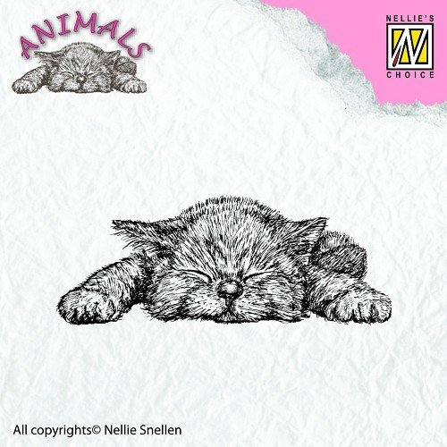 ANI009 Clear stamps animals kitten