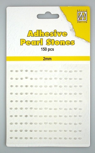 APS207 150 adh.pearls 2mm 3 col white