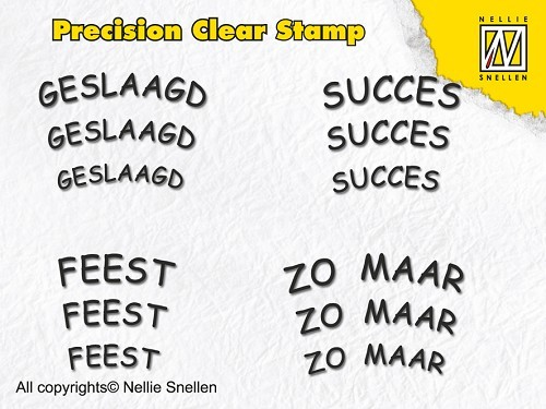 APST004 Precision clear stamps Dutch Texts-4