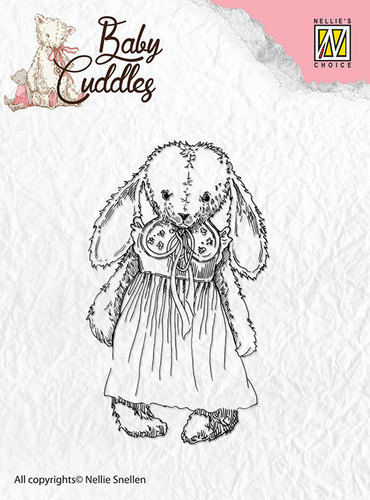 CSBC002 Clear Stamps Baby Cuddles Cuddly girl