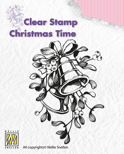 CT006 Clear stamps Christmas time Christmas bells