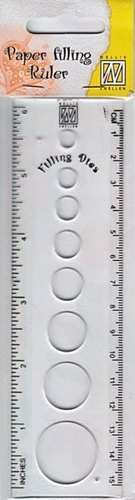 FCSR001 Filling Die Circle size ruler