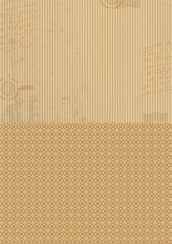 NEVA004 Doublesided background sheets A4 brown stripes