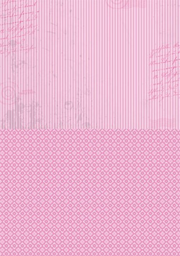 NEVA009 Doublesided background sheets A4 pink stripes