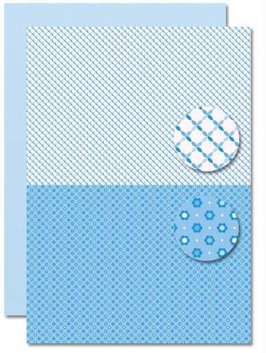 NEVA078 background sheets doublesided lightblue Babyboy-suns