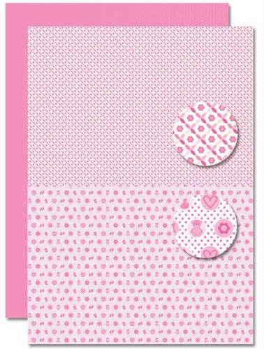 NEVA085 background sheets doublesided Babygirl miscellany
