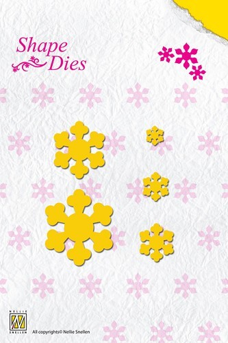 SD022 Shape Die Folding Flower-1
