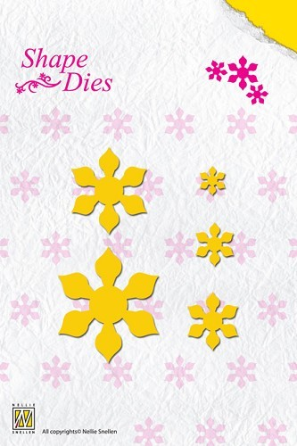 SD023 Shape Die Folding Flower-2