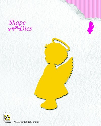 SD074 Shape Dies Angel-girl
