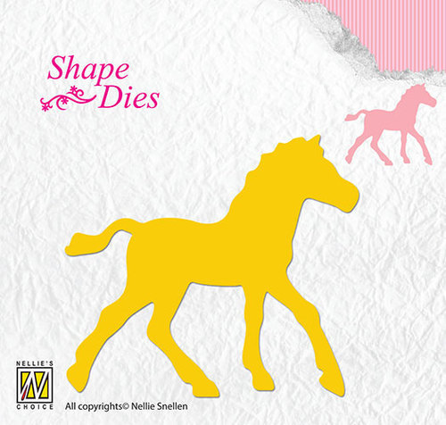 SD107 Shape Dies horse