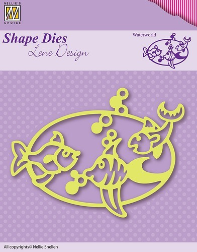 SDL002 Shape Die Lene Design Waterworld