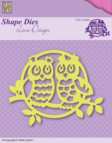 SDL003 Shape Die Lene Design cute couple